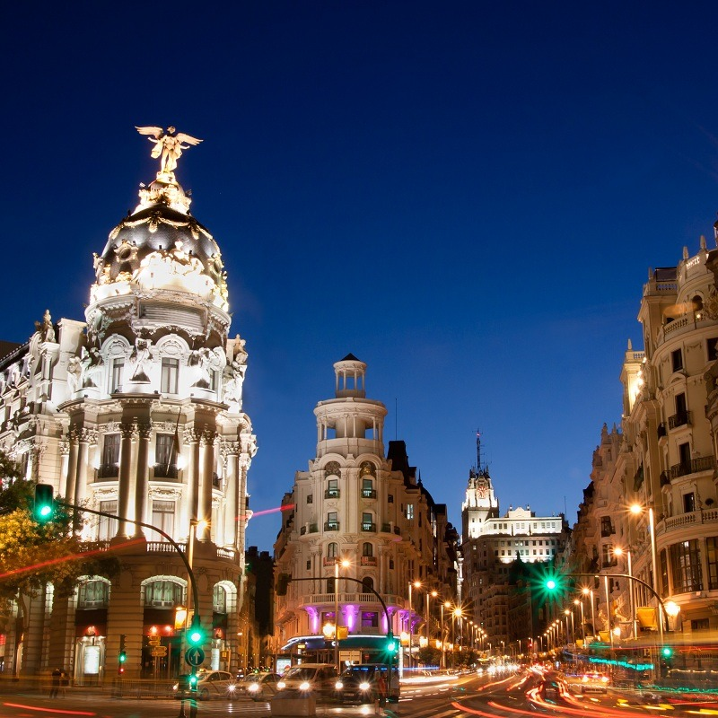 court séjour à Madrid en Espagne